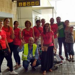 Familias de acogida de Ampliando la Familia han formado el equipo de Voluntariado de apoyo a la operación de regreso a los campamentos